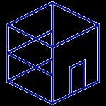 Icon virtual building