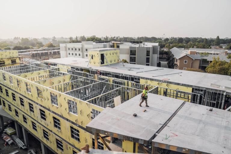 prefab student housing structure