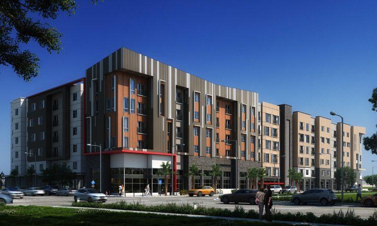 Renaissance West Rendering Baker Barrios Architects HERO